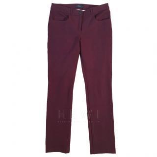 JOSEPH Nigel gabardine trousers