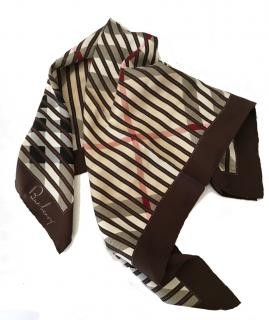 Burberry Vintage Check Silk Scarf