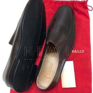 Bally Mocha Leather Men's Loafers