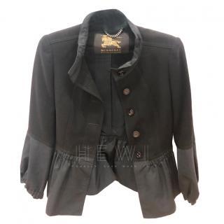 Burberry Prorsum Short Black Jacket