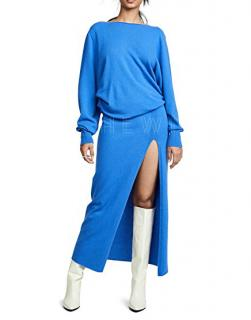 Jacquemus Jemaa Blue Wool Dress