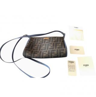 Fendi Zucca Spalmati Mini Crossbody Bag