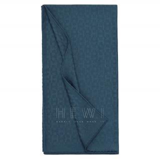 Hermes Cashmere, Wool & Silk Equip'H Scarf in Ocean