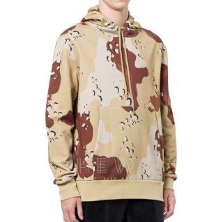 Christopher Raeburn jersey choc chip print hoodie
