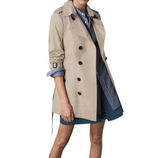 Burberry The Sandringham Short Trench Coat