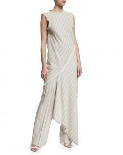 Acne Studios Striped Wide Leg Trousers