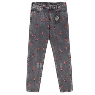 Scotch & Soda Petit Ami Slim Boyfriend Fit Chilli Jeans