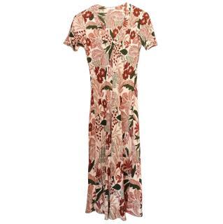 Henrietta Bevan Printed Silk Dress