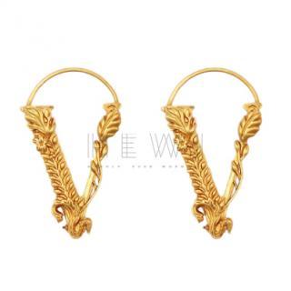 Versace Virtus Ear Cuffs - New Season