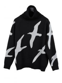 Finisterre x Christopher Raeburn albatross rollneck jumper