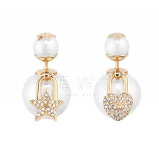 Dior Tribales asymmetric earrings - New Season