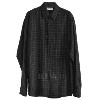 Saint Laurent Men's Check Classic Shirt