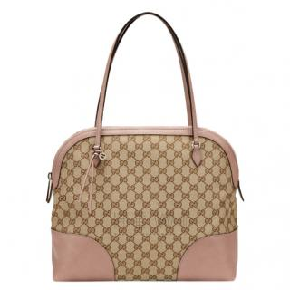 Gucci Bree Monogram GG Canvas Shoulder Bag