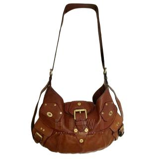 Mulberry Tan Calf Leather Hobo Bag