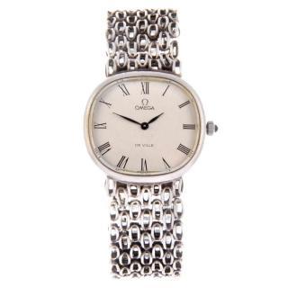 OMEGA de Ville Jeu d'Argent bracelet watch