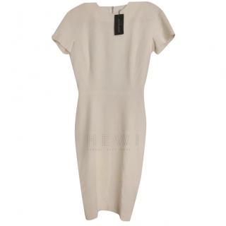 Victoria Beckham Silk & Wool Double Faced Dress