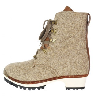 Vivienne Westwood felted clog army boot