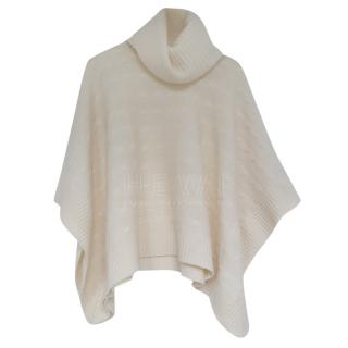 Polo Ralph Lauren Cream Roll Neck poncho