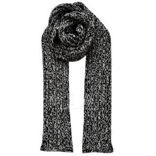 Saint Laurent Wool Knit Men's Scarf