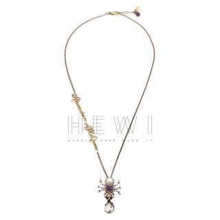 Alexander McQueen Crystal Spider Necklace