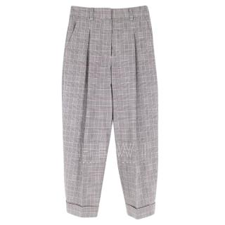 Phillip Lim Prince of Wales Check Tapered Pants