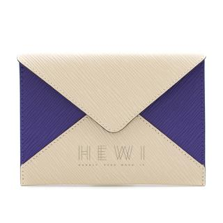 Louis Vuitton Purple & Cream Epi Leather Envelope Pouch