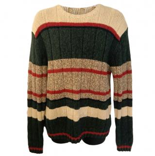 Polo Ralph Lauren Striped Chunky Knit Jumper