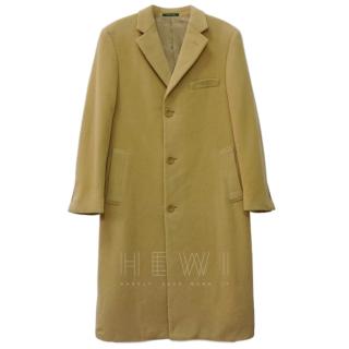 Lauren Ralph Lauren Men's Columbia Beige Wool / Cashmere Coat