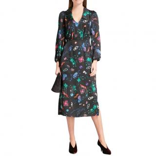 Rixo Floral Camellia Dress
