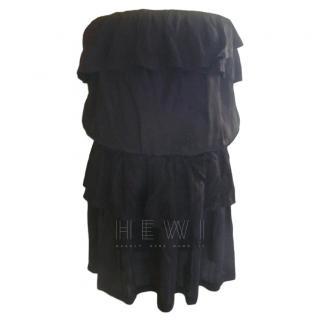 Ba&sh Black Strapless Becky Dress
