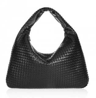 Bottega Veneta Medium Veneta intrecciato leather shoulder bag