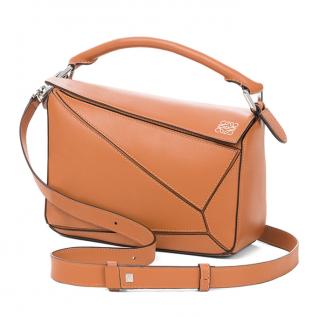 Loewe Small Tan Puzzle Bag
