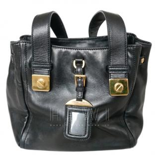 Prada Nappa Oro Black Tote Bag