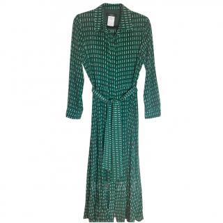 Weekend Max Mara Silk Shirt Dress UK 12 New unworn
