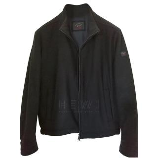 Paul & Shark Black Weather Proof Jacket