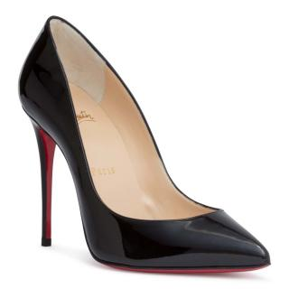 Christian Louboutin Pigalle Follies 100 patent black pumps