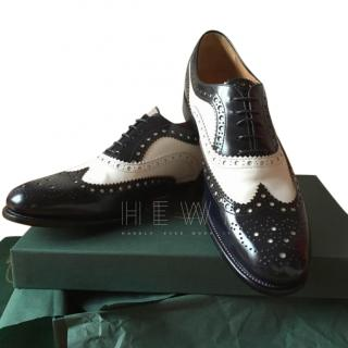 Church's Black & White Brogues