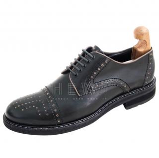 Hugo Boss Dark Green Brogues