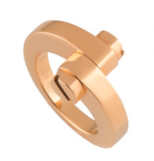 Cartier Double Screw Rose Gold Ring
