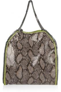 Stella McCartney Faux Python Falabella bag