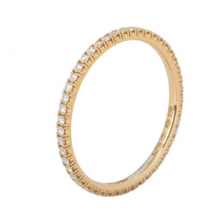 Cartier Rose Gold Diamond Etincelle Ring