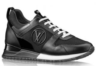 Louis Vuitton Black Run Away Sneakers