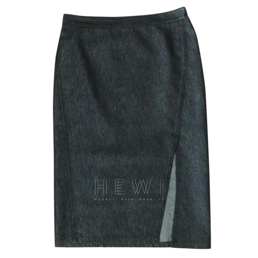 Gucci Charcoal Denim Skirt