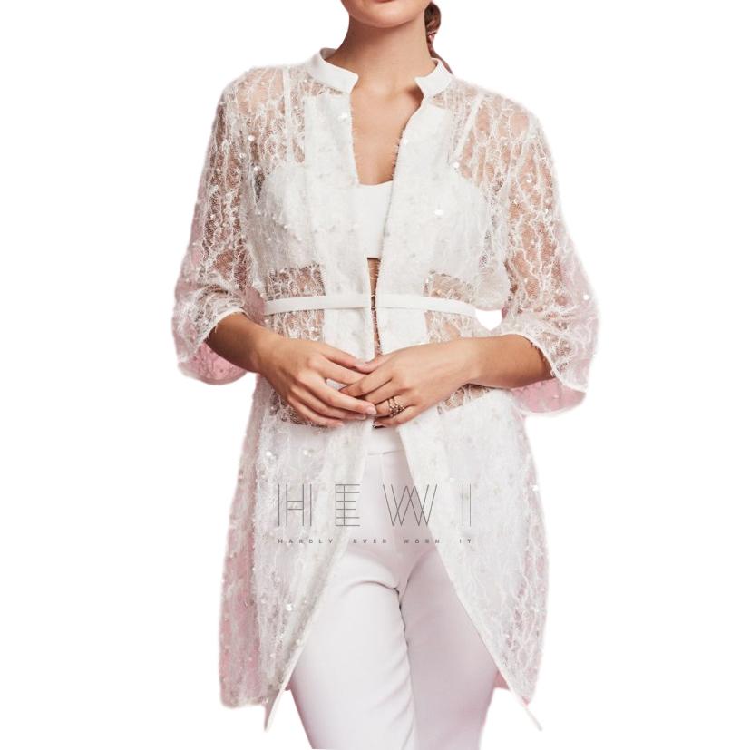 Savin London Lamia Bridal Coat