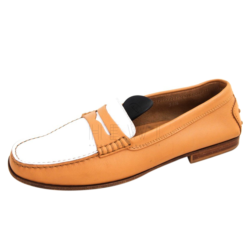 Tod's Two-Tone Penny Loafers