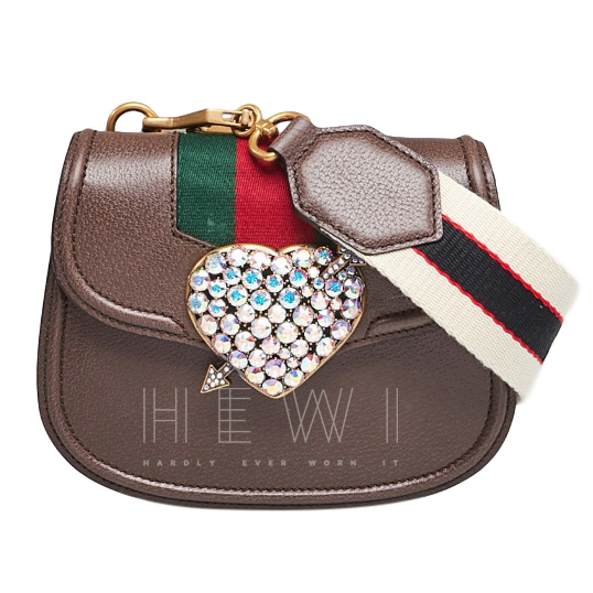 Gucci Crystal Embellished Heart Totem Bag