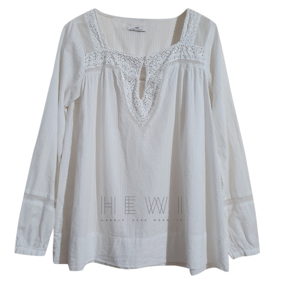 Day Birger & Mikkelsen white cotton blouse