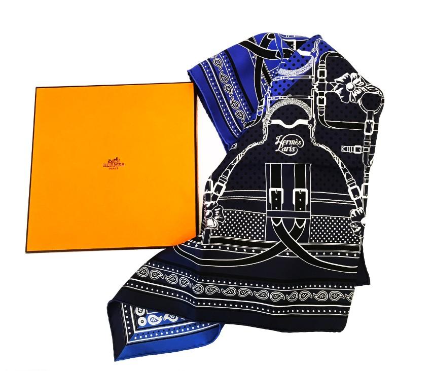 Hermes silk