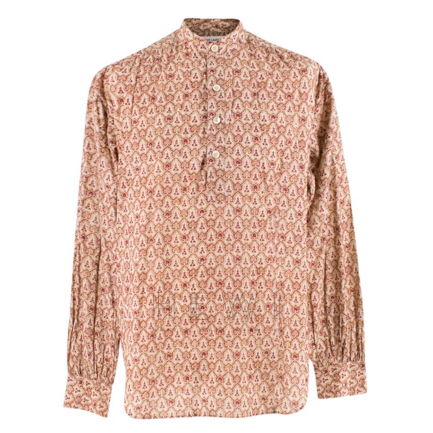 Saint Laurent Floral Paisley Print Shirt