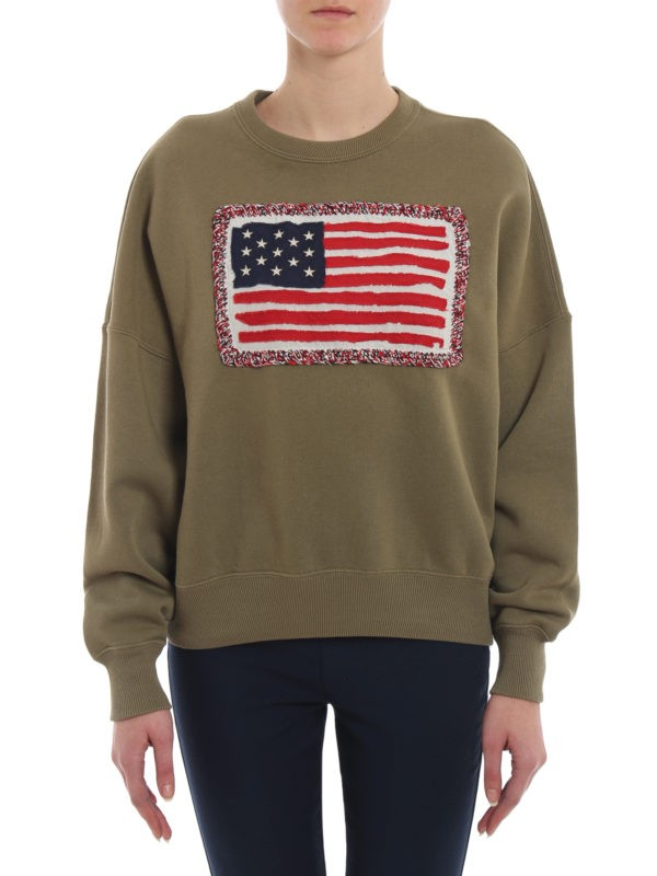 Ralph Lauren Polo USA Flag Sweatshirt
